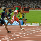 Bolt's 9.69 in Beijing 2008. What Could He Have Run?