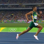 Stride Length vs Stride Frequency in the 400 Metres