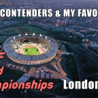 2017 World Championships in Athletics: Medal Contenders & My Favourites